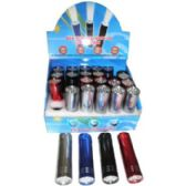 96 Units of L.E.D. MINI FLASHLIGHT WITH 9 L.E.D. LIGHTS
