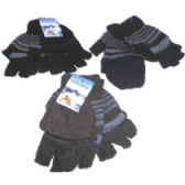 96 Units of FINGERLESS GLOVES WITH MITTEN COVER