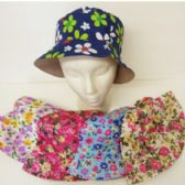 72 Units of ASSORTED FLORAL PRINT BUCKET HATS - Bucket Hats