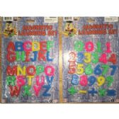 144 Units of MAGNETIC LETTERS AND NUMBERS