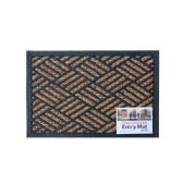 18 Units of Decorative Weather-Resistant Entry Mat - Home Goods