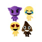 12 Units of Emoticon Stuffed Plush Character - Plush Toys