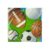108 Units of Celebrate Sports Beverage Napkins Set - Napkin and Paper Towel Holders