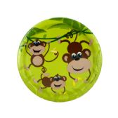 108 Units of Small Monkeys Party Plates Set - Party Tableware