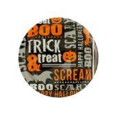 108 Units of Trick & Treat Round Party Plates Set