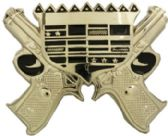 24 Units of Gun Belt Buckle - Belt Buckles