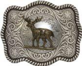 24 Units of Western Deer Belt Buckle - Belt Buckles