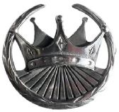 36 Units of Crown Belt Buckle - Belt Buckles