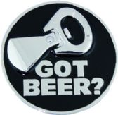 """24 Units of """"Got Beer"""" Belt Buckle - Belt Buckles"""