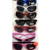 144 Units of CHILDREN'S ASSORTED SUNGLASSES FOR BOYS & GIRLS