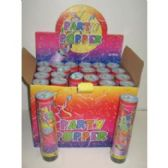 144 Units of NEW YEARS CONFETTI PARTY POPPERS