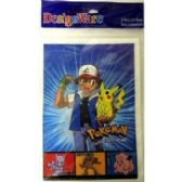 72 Units of POKEMON PARTY GIFT BAGS - 8 PACK