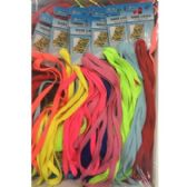 72 Units of ASSORTED COLOR SHOELACES - Footwear Accessories