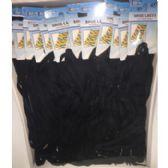 "72 Units of BLACK SHOELACES 45"" - Footwear Accessories"