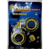 72 Units of TOY METAL HANDCUFFS