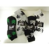 120 Units of LEAF SOCKS 3-PACK