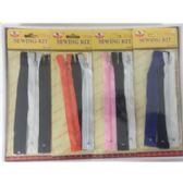 60 Units of ASSORTED COLORED ZIPPER REPLACEMENTS - Sewing Thread