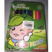 72 Units of LITTLE PIN TREE COLOR PENCILS