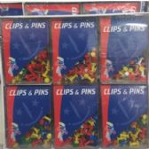 72 Units of CLIPS AND PINS
