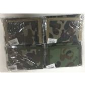 72 Units of CAMOUFLAGE VELCRO WALLET - Leather Purses and Handbags