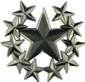 24 Units of Multi Star Belt Buckle