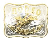 12 Units of Rodeo Bull Belt Buckle