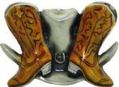 24 Units of Cowboy Boots - Belt Buckles