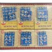 72 Units of METAL BUTTON SNAP REPLACEMENTS - SEWING BUTTONS