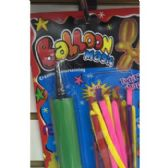 72 Units of LONG BALLOONS WITH PUMP