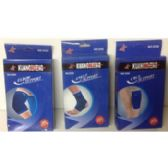 72 Units of ELBOW, ANKLE & CALF SUPPORT 2-PACK - Bandages and Support Wraps