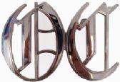 36 Units of Letter Belt Buckle - Belt Buckles