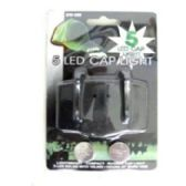 60 Units of CAP LIGHT WITH 5 BULB L.E.D. WITH BATTERIES - Lightbulbs
