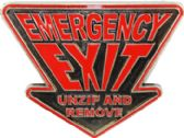 36 Units of Emergency Exit Belt Buckle - Belt Buckles