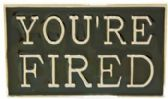 24 Units of You Are Fired Belt Buckle - Belt Buckles