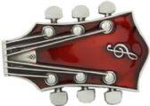 24 Units of Guitar Head Belt Buckle - Belt Buckles