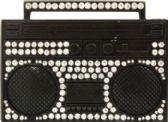 24 Units of Black Tape Belt Buckle - Belt Buckles