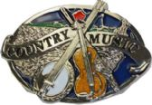 24 Units of Country Music Belt Buckle - Belt Buckles