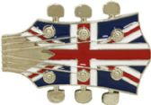 36 Units of Guitar Head Belt Buckle - Belt Buckles