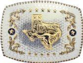 12 Units of Oversize Texas Belt Buckle