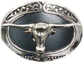 24 Units of Bull Head Belt Buckle - Belt Buckles