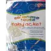 48 Units of COLOR-ME CUTE RAIN JACKET/PONCHO FOR KIDS