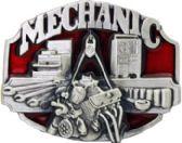 12 Units of Mechanic Belt Buckle - Belt Buckles