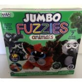 24 Units of JUMBO FUZZIES ANIMALS BENDABLE TOY