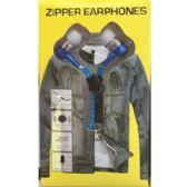 48 Units of NOVELTY ZIPPER HEADPHONES