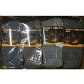 60 Units of MEN'S BOOT SOCKS - 3 PACK