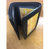 48 Units of MEN'S LEATHER TRI-FOLD WALLETS - Leather Wallets