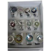 36 Units of WOMEN'S ASSORTED BANGLE WATCHES WITH STONES