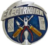 24 Units of Electrician Belt Buckle - Belt Buckles