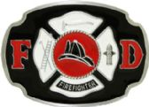 24 Units of Fire Department - Belt Buckles