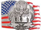 24 Units of Army Belt Buckle - Belt Buckles